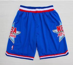 1992 Basketball All-Star Blue Hardwood Classics Shorts