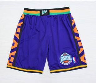 1995 Basketball All-Star Purple Hardwood Classics Shorts