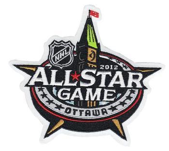 2012 Hockey All-star Game Patch Ottawa Senators
