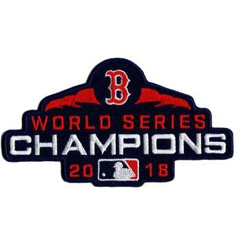 Stitched Baseball Boston Red Sox 2018 World Series Champions Patch