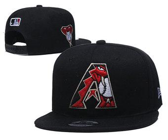 2020 Arizona Diamondbacks Stitched Adjustable Snapback Team Logo Baseball Hat YD4