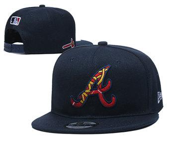 2020 Atlanta Braves Stitched Adjustable Snapback Team Logo Baseball Hat YD29