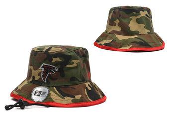 2020 Atlanta Falcons Stitched Camo Bucket Fisherman Football Hats