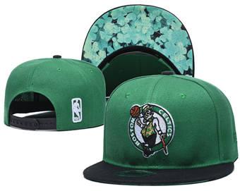 2020 Boston Celtics Stitched Adjustable Snapback Team Logo Basketball Hat 16
