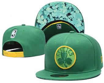 2020 Boston Celtics Stitched Adjustable Snapback Team Logo Basketball Hat 17