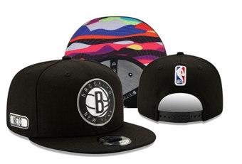 2020 Brooklyn Nets Stitched Adjustable Snapback Team Logo Basketball Hat 37