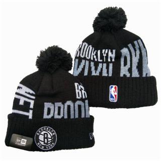 2020 Brooklyn Nets Team Logo Stitched Basketball Sports Beanie Hat YD