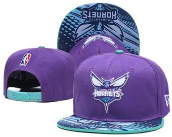 2020 Charlotte Hornets Stitched Adjustable Snapback Team Logo Basketball Hat LH 12