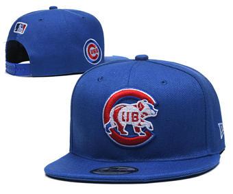 2020 Chicago Cubs Stitched Adjustable Snapback Team Logo Baseball Hat YD26
