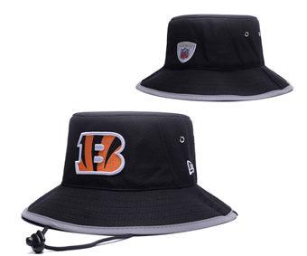 2020 Cincinnati Bengals Stitched Black Bucket Fisherman Football Hats