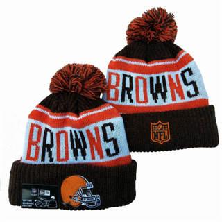 2020 Cleveland Browns Team Logo Stitched Knit Hat Sports Beanie Hat YD