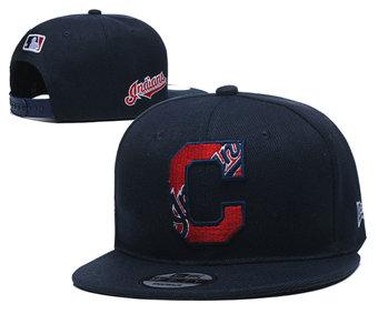 2020 Cleveland Indians Stitched Adjustable Snapback Team Logo Baseball Hat YD23