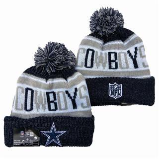 2020 Dallas Cowboys Team Logo Stitched Knit Hat Sports Beanie Hat YD