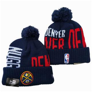 2020 Denver Nuggets Team Logo Stitched Basketball Sports Beanie Hat YD