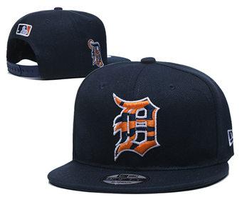 2020 Detroit Tigers Stitched Adjustable Snapback Team Logo Baseball Hat YD22