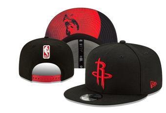 2020 Houston Rockets Stitched Adjustable Snapback Team Logo Basketball Hat 34