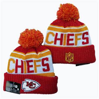 2020 Kansas City Chiefs Team Logo Stitched Knit Hat Sports Beanie Hat YD