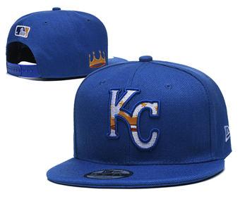 2020 Kansas City Royals Stitched Adjustable Snapback Team Logo Baseball Hat YD3