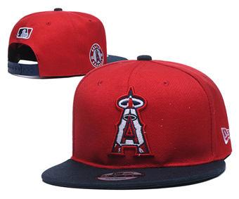 2020 Los Angeles Angels Stitched Adjustable Snapback Team Logo Baseball Hat YD20