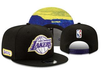 2020 Los Angeles Lakers Stitched Adjustable Snapback Team Logo Basketball Hat 26