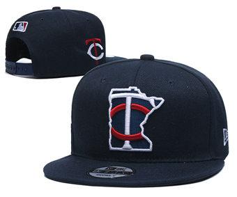2020 Minnesota Twins Stitched Adjustable Snapback Team Logo Baseball Hat YD2