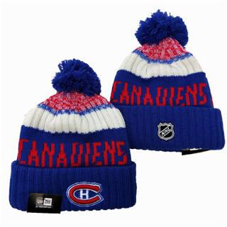 2020 Montreal Canadiens Team Logo Stitched Hockey Sports Beanie Hat YD