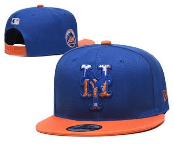 2020 New York Mets Stitched Adjustable Snapback Team Logo Baseball Hat YD16