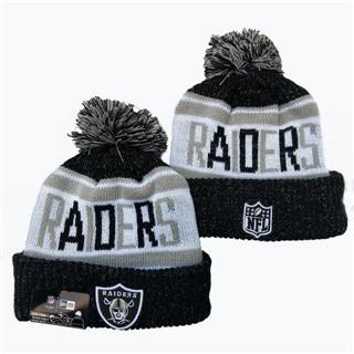 2020 Oakland Raiders Team Logo Stitched Knit Hat Sports Beanie Hat YD
