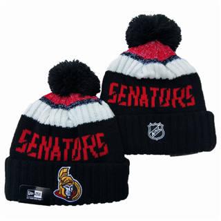 2020 Ottawa Senators Team Logo Stitched Hockey Sports Beanie Hat YD