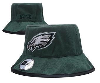 2020 Philadelphia Eagles Stitched Black Bucket Fisherman Football Hats