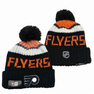 2020 Philadelphia Flyers Team Logo Stitched Hockey Sports Beanie Hat YD