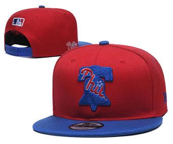 2020 Philadelphia Phillies Stitched Adjustable Snapback Team Logo Baseball Hat YD13