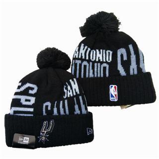 2020 San Antonio Spurs Team Logo Stitched Basketball Sports Beanie Hat YD