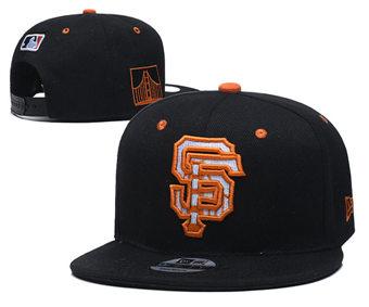 2020 San Francisco Giants Stitched Adjustable Snapback Team Logo Baseball Hat YD10