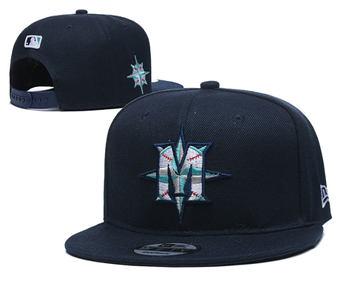 2020 Seattle Mariners Stitched Adjustable Snapback Team Logo Baseball Hat YD9