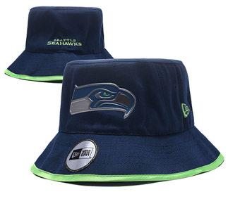 2020 Seattle Seahawks Stitched Bucket Fisherman Football Hats