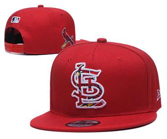 2020 St. Louis Cardinals Stitched Adjustable Snapback Team Logo Baseball Hat YD8