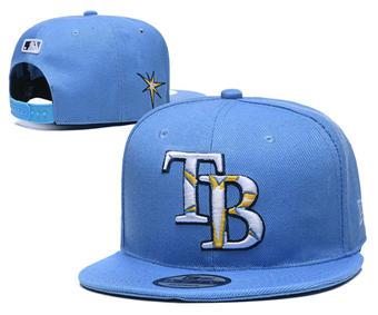 2020 Tampa Bay Rays Stitched Adjustable Snapback Team Logo Baseball Hat YD7
