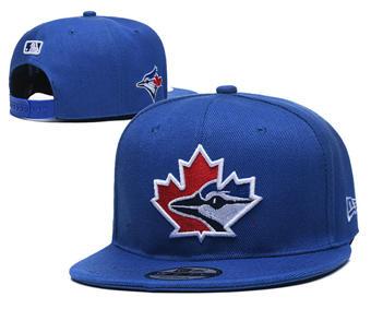 2020 Toronto Blue Jays Stitched Adjustable Snapback Team Logo Baseball Hat YD6
