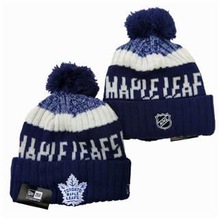 2020 Toronto Maple Leafs Team Logo Stitched Hockey Sports Beanie Hat YD