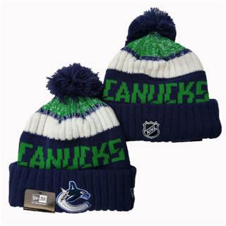 2020 Vancouver Canucks Team Logo Stitched Hockey Sports Beanie Hat YD
