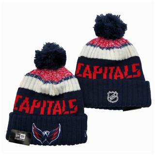 2020 Washington Capitals Team Logo Stitched Hockey Sports Beanie Hat YD