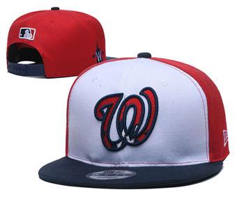 2020 Washington Nationals Stitched Adjustable Snapback Team Logo Baseball Hat YD5