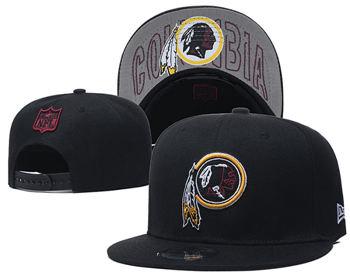 2020 Washington Redskins Stitched Adjustable Snapback Football Team Hat (8)