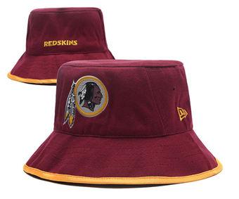 2020 Washington Redskins Stitched Red Bucket Fisherman Football Hats