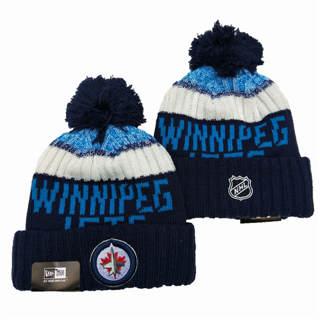 2020 Winnipeg Jets Team Logo Stitched Hockey Sports Beanie Hat YD