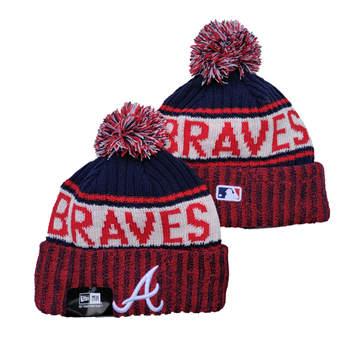 2021 Baseball Atlanta Braves Knit Hats 010