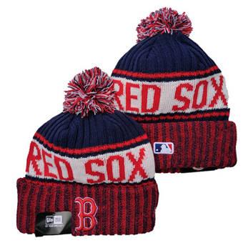 2021 Baseball Boston Red Sox Knit Hats 027