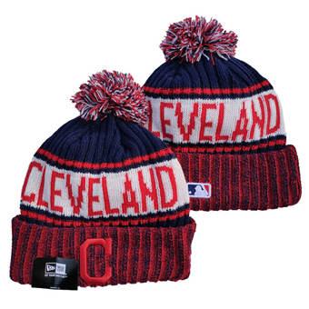 2021 Baseball Cleveland Indians Knit Hats 010