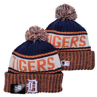 2021 Baseball Detroit Tigers Knit Hats 010